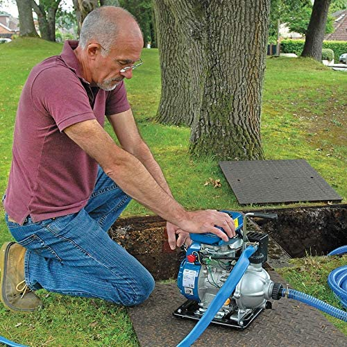 Draper PWP27 85L//Min Essence Pompe à eau