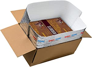 RadiantGUARD 14 in x 14 in x 14 in Food Grade Foil Insulated Box Liner  Pack of 15   Reflective Foil Bubble Foam Thermal Insulation Bags – Reusable Lightweight Waterproof Moisture Barrier