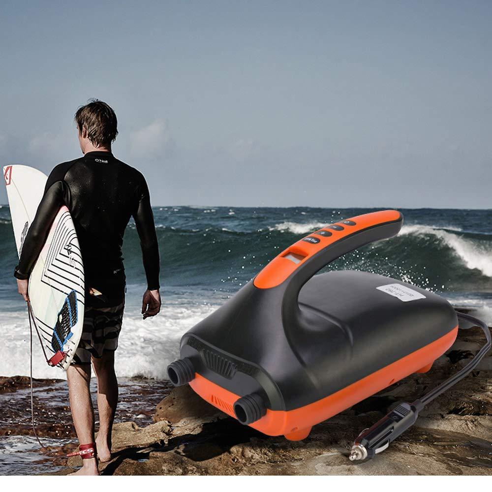 Heiner SUP Surf Paddle Board Auto Hochdruck Luftpumpe 20PSI Kajak Kanu Beiboot Schlauchboot Angriffsboot Universal
