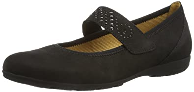 d4fd763ab86d Gabor Shoes Damen Durchgängies Plateau, (schwarz), 44 EU  Amazon.de ...