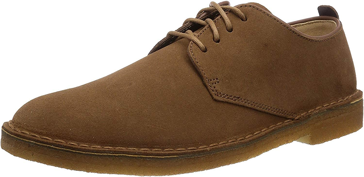 Clarks Originals Desert London, Zapatos de Cordones Derby para Hombre, Marron (Cola Suede), 40 EU