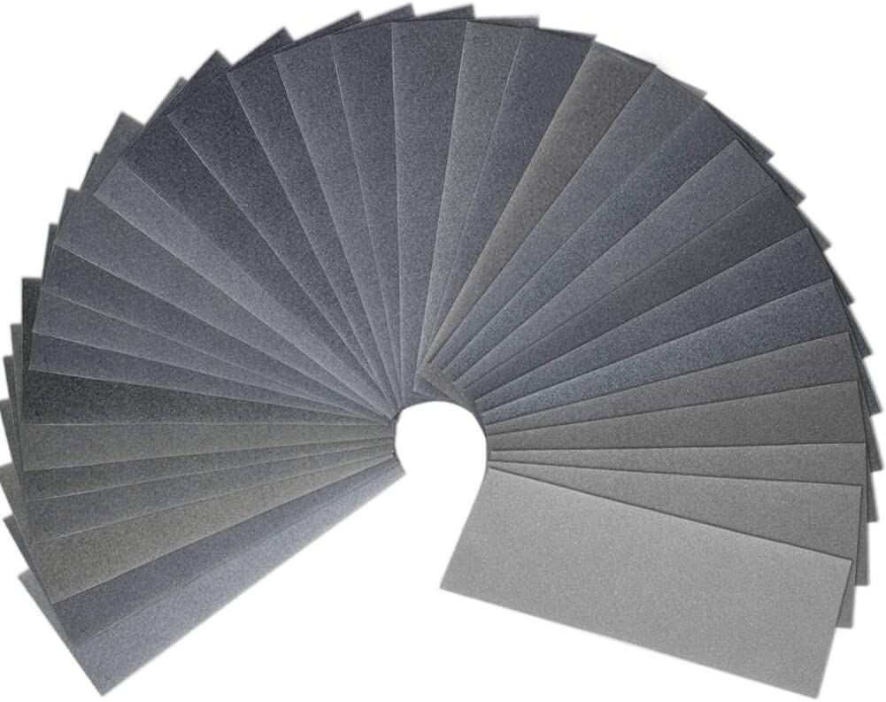 Kit 150 To 7000 Grit Sand Paper Wet And Dry Abrasive Sandpaper Assortment Tools