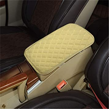 Universal Super Soft PU Leather Auto Car Armrest Pads Cover Solid Color Vehicle Interior Styling Armrest Seat Protective Pad