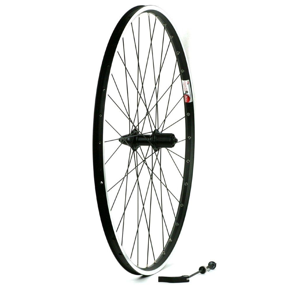 Sta-Tru Black Alloy Mtb 8-9-10 Speed Cassette Hub Rear Wheel (700X35)