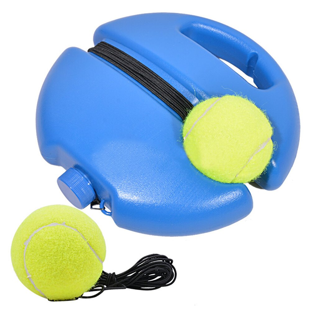 X Homes Tennis Trainer Base with 3 Tennis Balls, Solo Practice Equipment Power Base Rebound Tennis Ball for Beginner Kids Youth