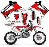Team Racing Graphics kit for 2004-2010 Honda CRF 80/100, EVOLV