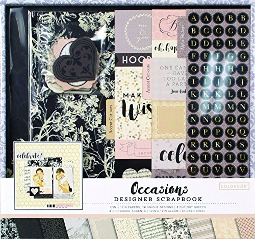 Colorbok Occasions Box Kit (Colorbok Kit Scrapbook)