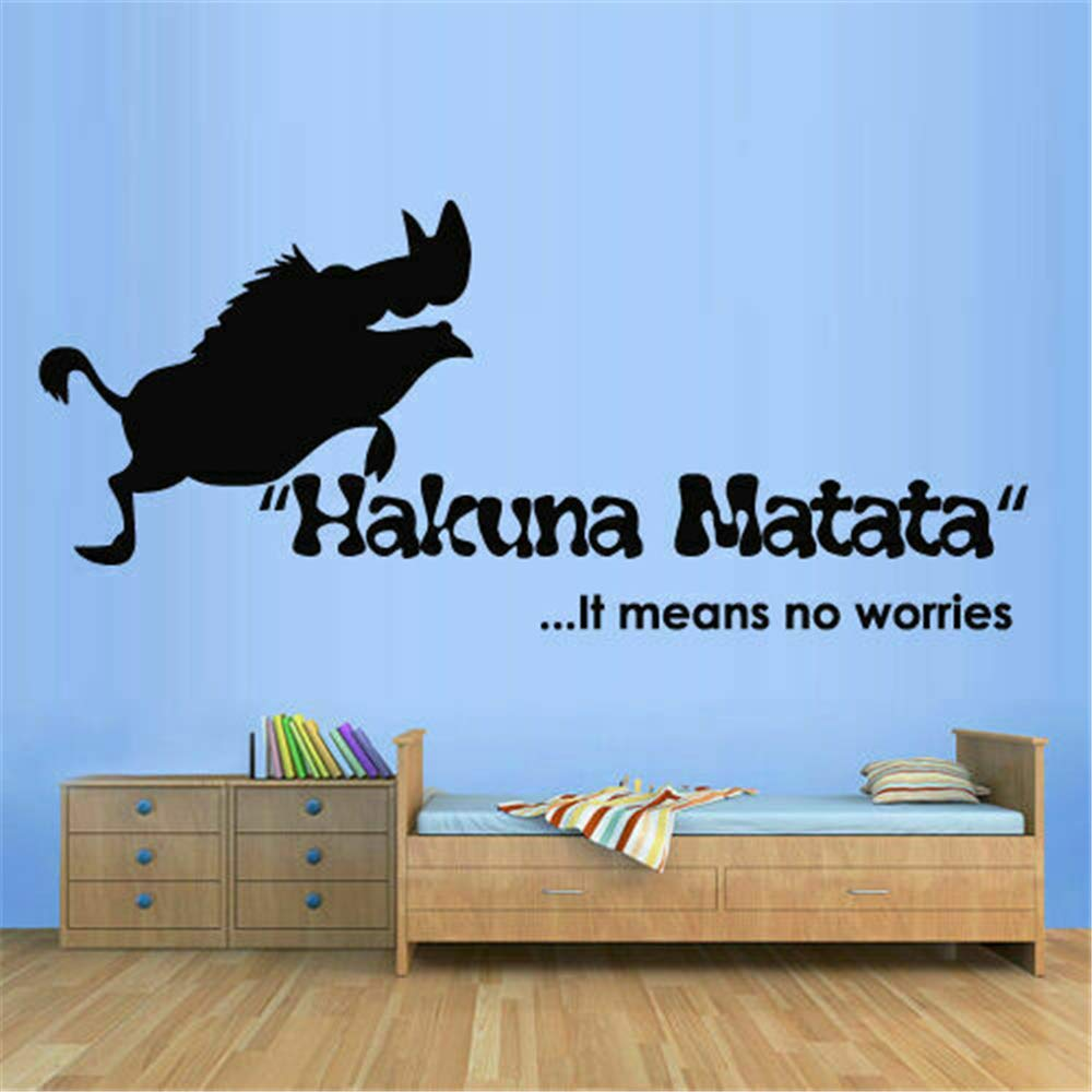 pegatina de pared 3d Lion King Decal Tatuajes de pared Signo de la ...