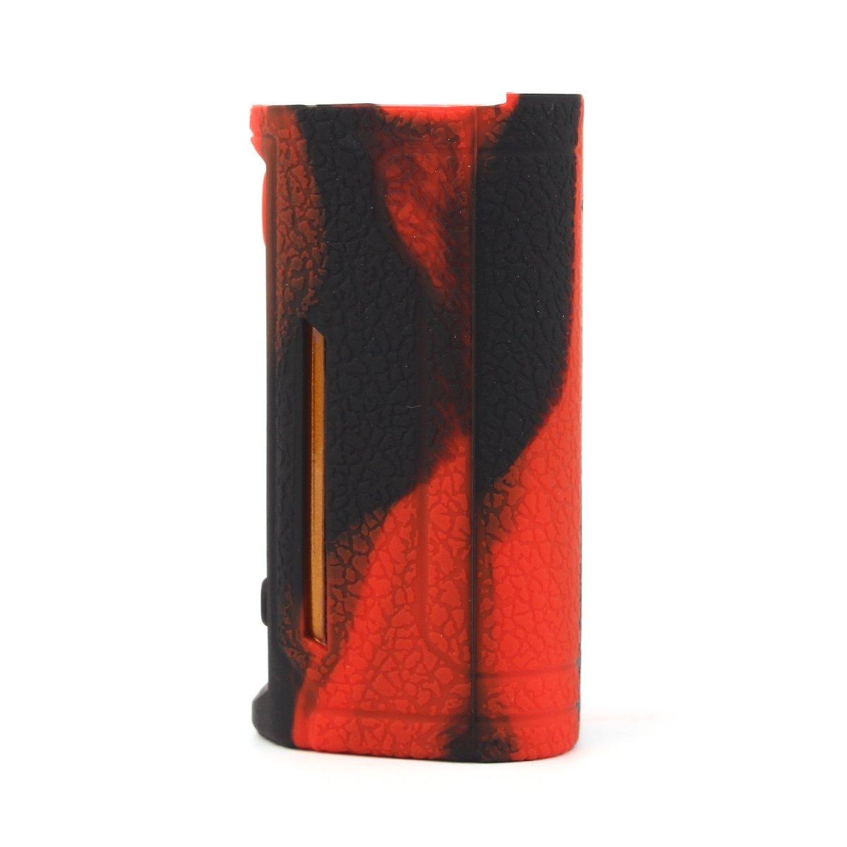 RutschfestSch/ützende Silikon-H/ülle-Abdeckungs-Verpackungs-Haut f/ür Wismec RX Gen3 Dual 230w Segeln Skin /Ärmel Case Cover Blaugr/ünes Blau CEOKS f/ür Wismec RX Gen3 Dual 230w H/ülle