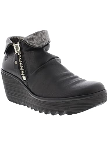 sells great look new photos Fly London Yoxi Womens Zip Fastening Ankle Boots: Amazon.co.uk ...