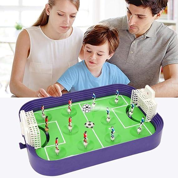 Sponsi Finger-to-Action Juguetes Educativos Competitivos para Niños Mini Cancha De Fútbol Padres E Hijos Juego De Tablero De Eyección Interactivo Juguetes: Amazon.es: Hogar