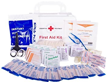 Amazon first aid kits for home vehiclecar camper and work first aid kits for home vehiclecar camper and work basic kit publicscrutiny Choice Image