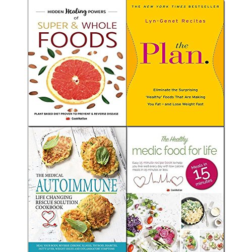 Plan eliminate the surprising, Hidden healing powers, medical autoimmune life and healthy medic food 4 books collection set (The Plan Eliminate The Surprising Healthy Foods)
