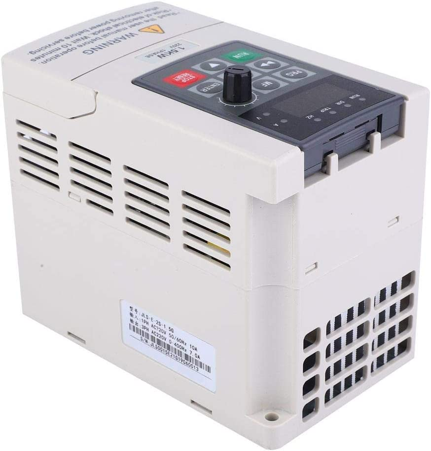Single Phase to 3 Phase 220V Variable Frequency Converter Inverter 1.5KW for Constant Pressure Water Supply Engraving Machine LHQ-HQ Single Phase Inverter