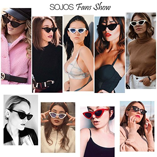 c96ab39510a5f SojoS Clout Goggles Cat Eye Sunglasses Vintage Mod Style Retro - Import It  All