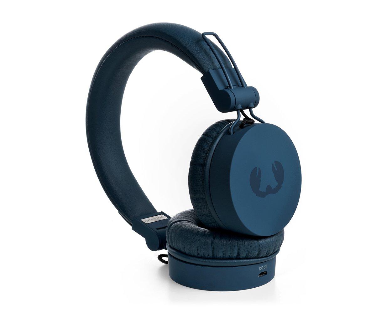 Amazon.com: Fresh 'n Rebel Caps On Ear Bluetooth Headphones Indigo  [156305]: Camera & Photo