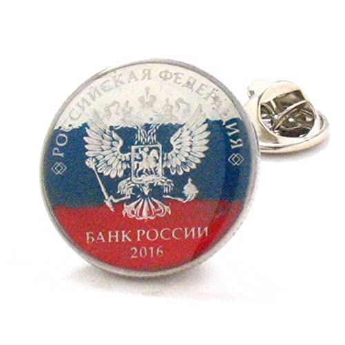Rusia moneda Tie Tack - Pin Moscú Rusia Россия ювелирные изделия ...