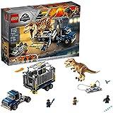 [Sponsored]LEGO Jurassic World T. Rex Transport 75933 Building Kit (609 Piece), Multi