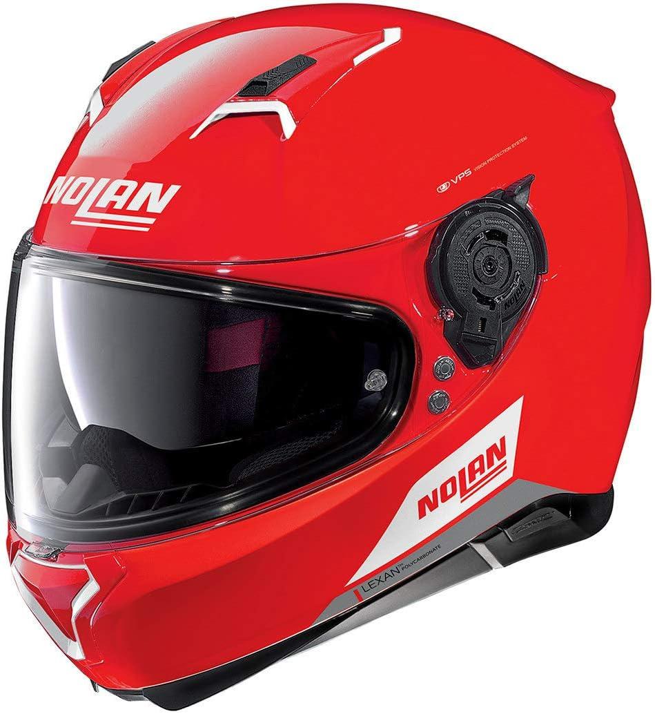 Nolan N87 EMBLEMA N-COM CORSA RED M
