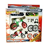 Remeehi Educational Stunt Finger Bike & Skateboard Set With Accessories
