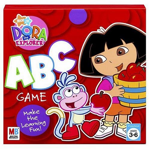 The Game Board Dora Explorer (Dora the Explorer: ABC Game)