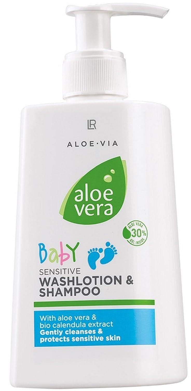 LR, Aloe Vera Baby Shampoo 1a LR 1632 AL Baby SHAMPOO 30% --- 250ml