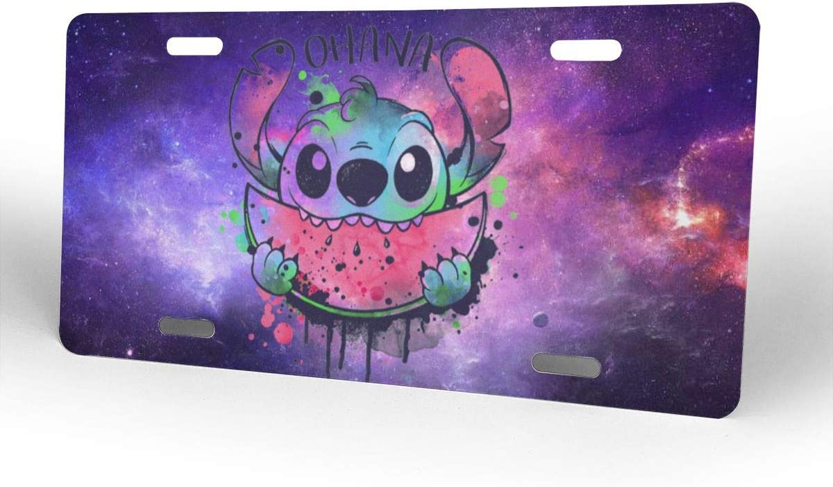 Aruba Z Legend Ohana WATERCOLORMELON Custom Personalized Metal License Plate USA Car Tag Novelty Tag Vehicle Auto Car Initial Front License Auto Tag