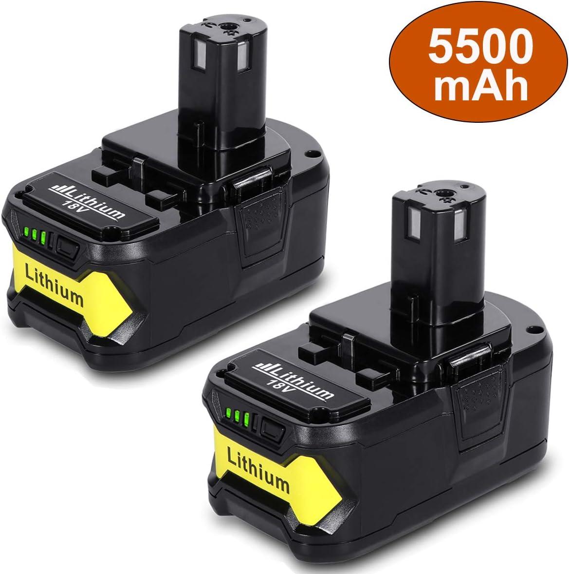 4.0Ah For Ryobi ONE PLUS P108 P107 P102 P100 BPL-1820 18V Lithium-ion Batterie