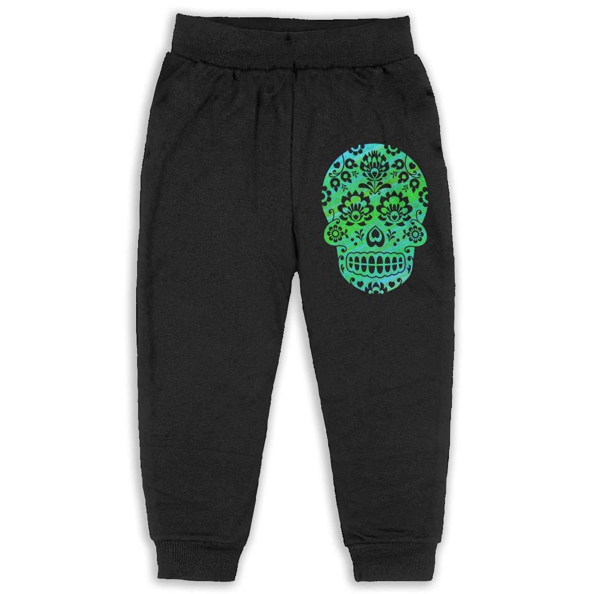 Kids /& Toddler Pants Soft Cozy Baby Sweatpants Mexican Sugar Skull Fleece Pants Sports Pants
