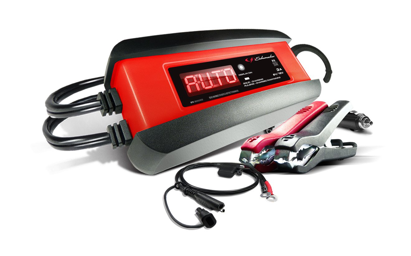 Schumacher SP1356 6/12V Fully Automatic Battery Charger and 3A Maintainer by Schumacher