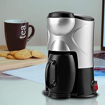 GBX Cafetera doméstica, máquina de café, filtro de aislamiento por ...
