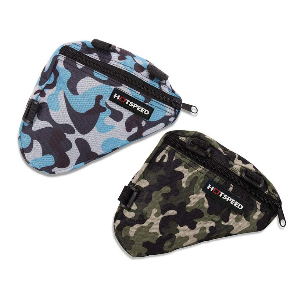 b7b896237c Amazon.com   Bike Frame Bag Waterproof Triangle Front Top Tube Pack Bicycle  Camouflage Saddle Pouch   Sports   Outdoors
