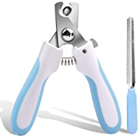 Mumoo Bear Alloy Pet Nail Clipper, Claw Nail Clippers Pet Grooming Nail Care Tool Great for Dogs Cats