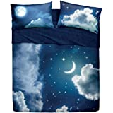 Bassetti Completo Letto, Sweet Moon, 240 x 280 cm