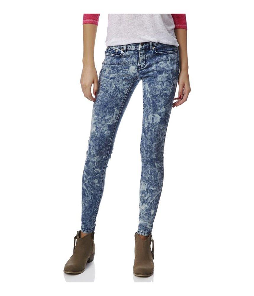 Aeropostale Womens Lola Jegging Skinny Fit Jeans Blue 000x32 - Juniors