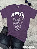 Hocus Pocus inspired T-Shirt / T-shirt Top Tee design It's Just a Bunch of Hocus Pocus - Ink Printed