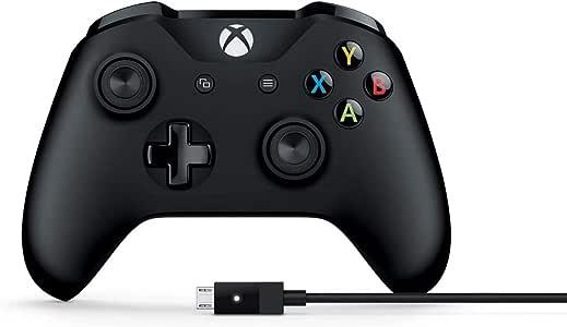 MICROSOFT 4N6-00003 Xbox ONE Wired PC Controller USB Windows, Retail Box (Black)