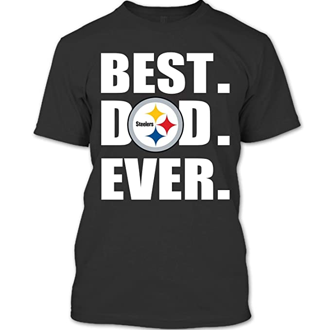 best service 3bb91 37470 Amazon.com: ROEBAGS Best Dad Ever Pittsburgh Steelers ...