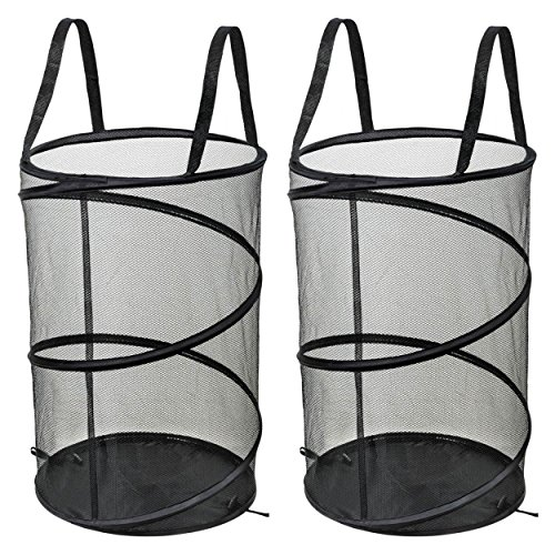 (NYHI 2 Pop-Up Mesh Laundry Hamper with Reinforced)