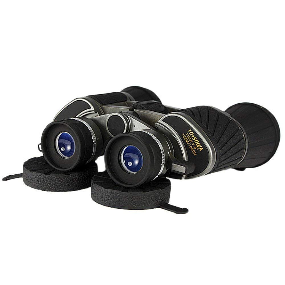 XLF Telescopio, Exterior, Binocular, visión Nocturna, Agua, Resistente al Agua, Nocturna, Alta definición, Alta Potencia, portátil, observación de Aves (Zoom 10X) fee494