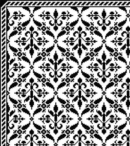 Charm Afghan Crochet - French Regency Coverlet/Afghan: Old World-Inspired Charm in Filet Crochet