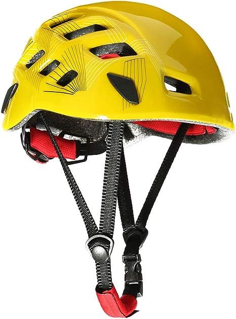 Elenxs Protector de Ciclo al Aire Libre Casco Escalada ...