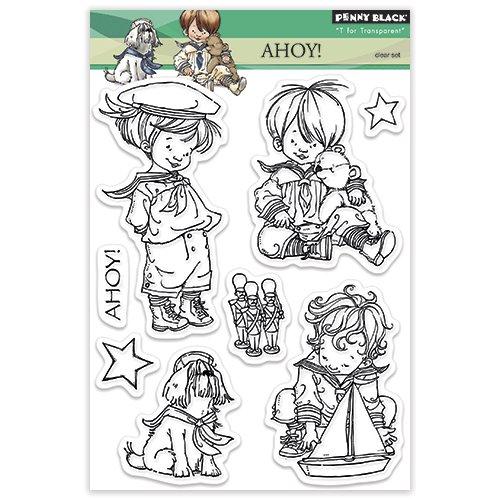 Penny Black Ahoy Clear Stamp Set