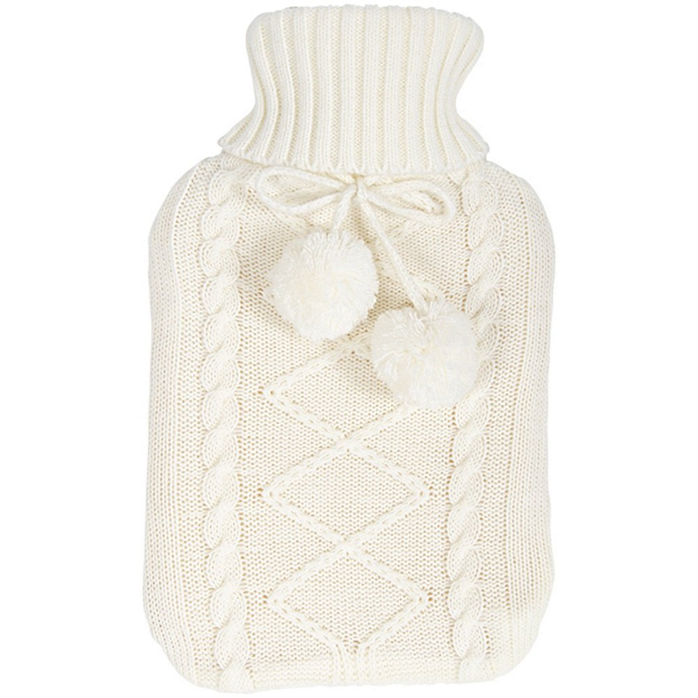 Hot Water Bottle - White