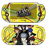 Premium Skin Decals Stickers For PlayStation PS Vita Original 1st Generation PCH-1000 Series Consoles - POP SKIN Persona #04 + Free Gift Screen Protector Film + Wallpaper Screen Image