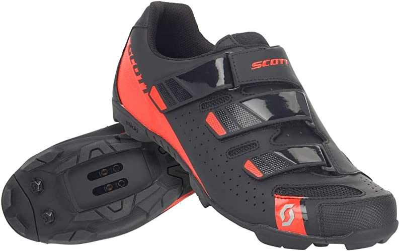 Scott 251834, MTB Shoes Comp Rs Black/Silver 42.0 Unisex Adult: Amazon.co.uk: Sports & Outdoors
