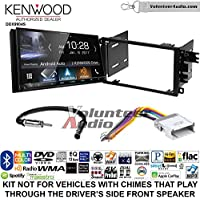 Volunteer Audio Kenwood DDX9904S Double Din Radio Install Kit with Apple CarPlay Android Auto Bluetooth Fits 2002-2003 Chevrolet S10, 2001-2002 Chevrolet Express