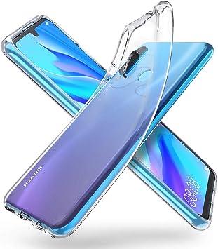 ORNARTO Funda para Huawei P30 Lite, Transparente Delgada Silicona ...