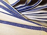 (60) 5 Dozen 100% Cotton Herringbone Stripe Kitchen Dish Towels Lint Free 15x26