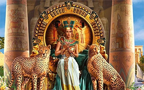 Cleopatra Movie Poster - Tomorrow sunny 24X36 INCH / ART SILK POSTER / Cleopatra VII Philopator pharaoh Ancient Egypt Ptolemaic dynasty Egyptian animals